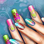 Floral Realife Manicure